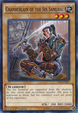 Kartu Yugioh The Six Samurai Zanji Common chamberlain of the six samurai yu gi oh