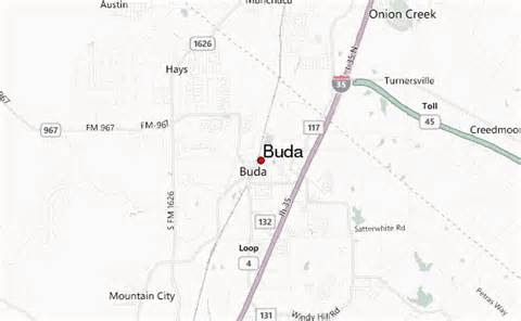 buda location guide