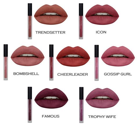 Lipstik Huda Huda Liquid Matte Lipstick In Various Shades Uk