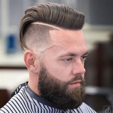 hairstyles with long hair on top an short on the sides shaved sides hairstyles for men 2018 men s haircuts