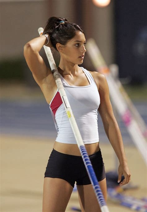 Accidentally Turns Pole Vaulter Allison Stoke Into Icon by Pole Vaulter Allison Stokke Reaching New Heights On Terms