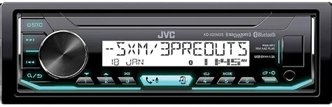 boat stereo volume control get 2018 s best deal on jvc kdx35mbs marine stereo rock