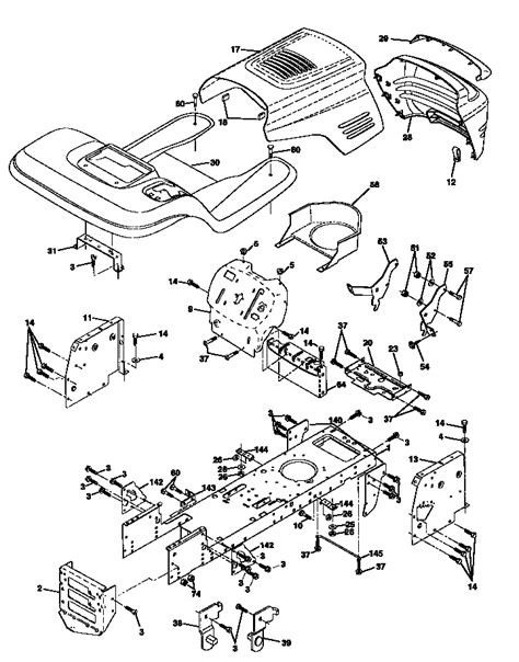 craftsman lt2000 parts diagram craftsman lt2000 wire harness craftsman tractor engine
