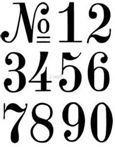 Number Template by 25 Best Ideas About Number Stencils On Number