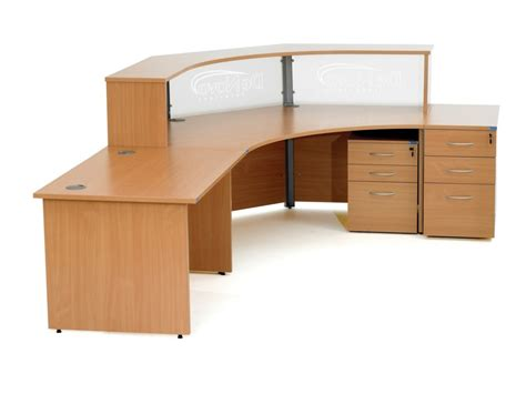 Curved Computer Desk Design Ideas Curved Corner Office Desk Design Orchidlagoon