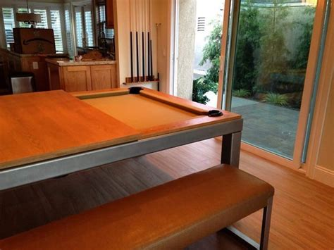 Pool Table Dining Room Combo by Designer Dining Pool Table Combo