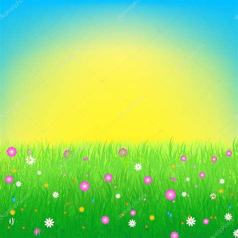 prato con fiori prato con sfondo di fiori vettoriali stock 169 okgraphic
