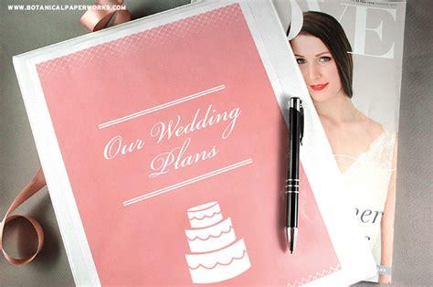 printables wedding planning binder blog botanical paperworks
