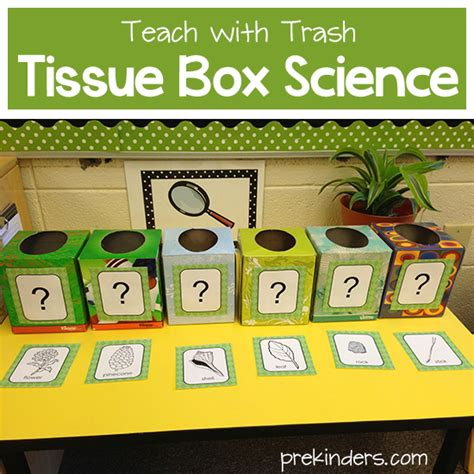 free technology for teachers hammocks plants and bedrooms teach with trash tissue box science prekinders
