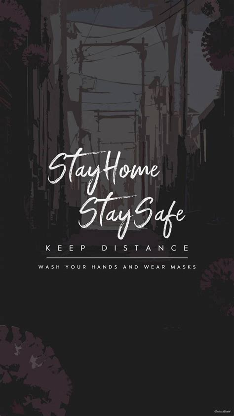 stay home stay safe wallpaper  moorro    zedge