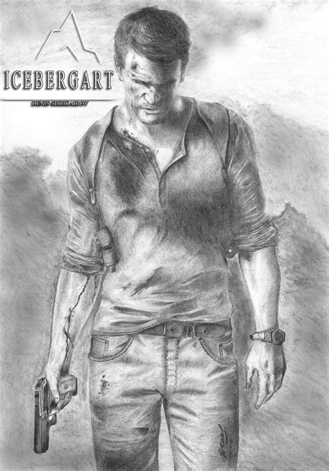 Uncharted 4 Sketches by Nathan Uncharted 4 A Thief S End By