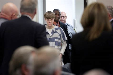 dylann roof charleston shooter dylann roof moved to row in terre