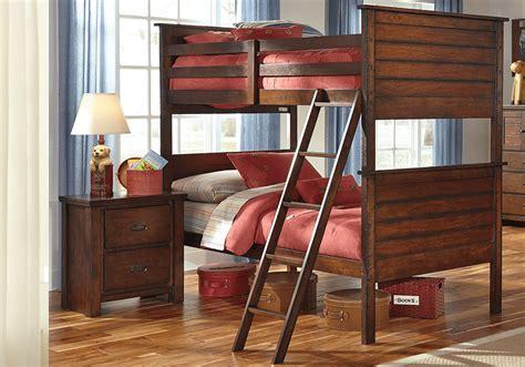 Bunk Beds Cincinnati Ladiville Rustic Brown Bunk Bed