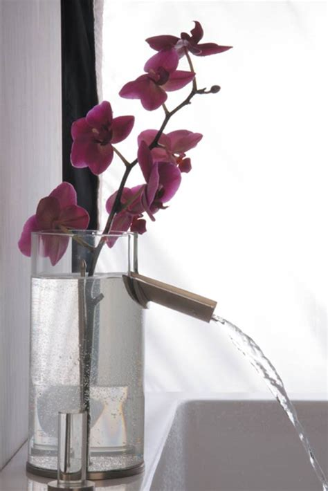 Bathroom Flower Vase Bathroom Faucet Flower Vase Design In One Product