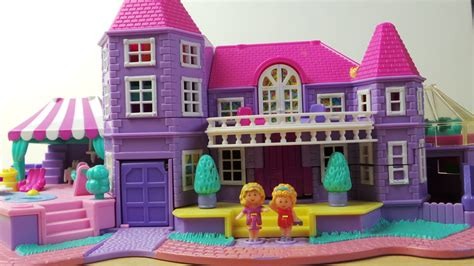 polly pocket dolls house amazing 1994 bluebird toys polly pocket pink american dolls house youtube