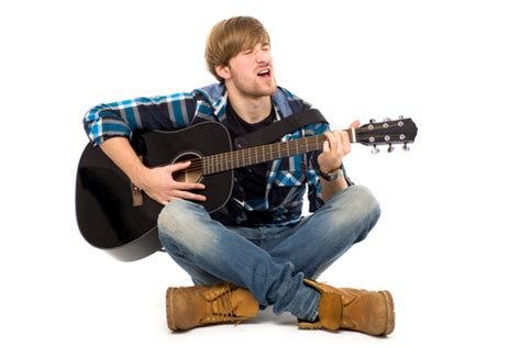 who is the guitar playing guy in the eliquis commercials party goers want acoustic guitar guy to shut up so they