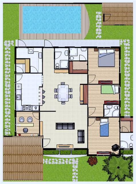 planta casas plantas de casas at 233 60m2 3 modelos