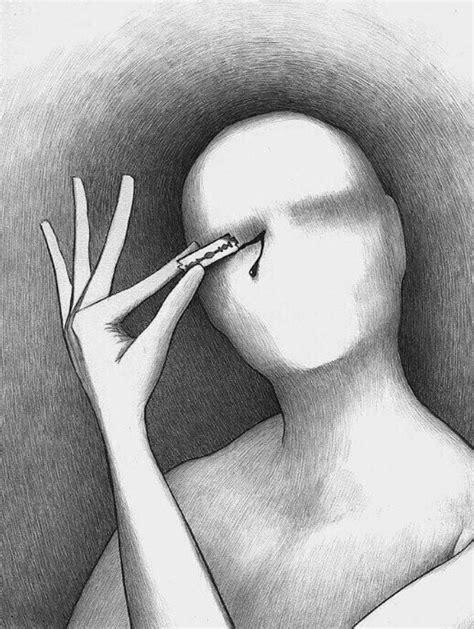 Painful Blind Eye Self Self Harm Daily