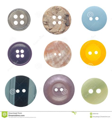 Sewing Buttons Set set of sewing buttons royalty free stock image image