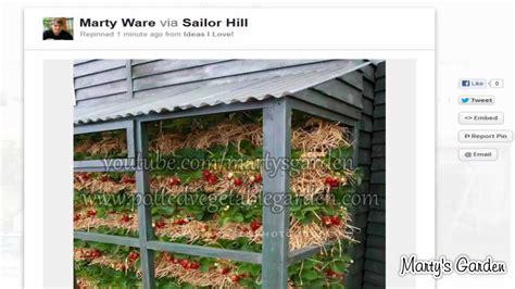 3 original ideas for vertical strawberry gardening youtube