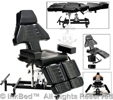 ink bed inkbed hydraulic client tattoo bed chair massage table ink