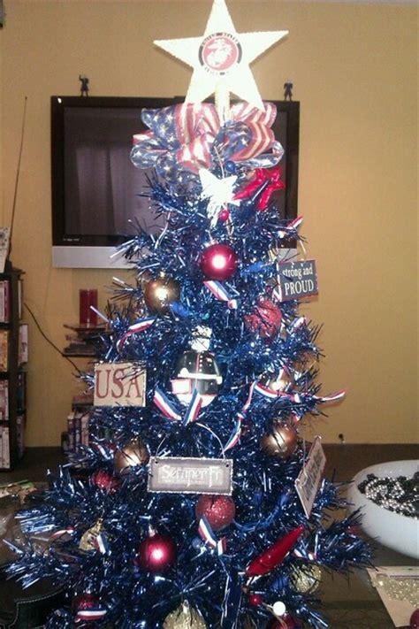 marine christmas tree christmas pinterest