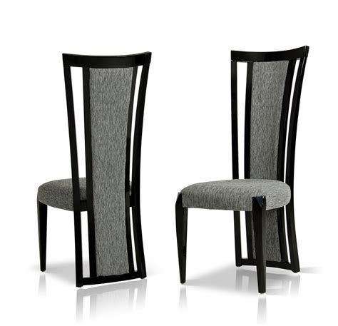 modern dining room chair libra modern fabric dining room chair