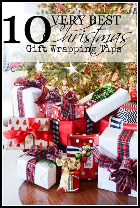 10 very best christmas gift wrapping tips stonegable