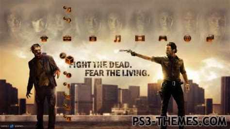 theme psp the walking dead ps3 themes 187 the walking dead hd