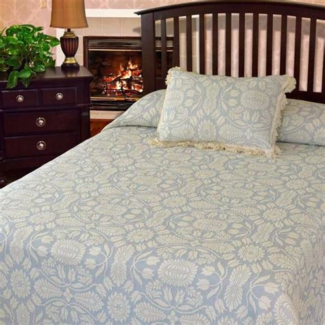 bates bedspreads and coverlets colonial rose coverlet bates mill store