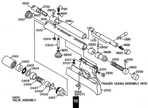 bb gun parts diagram qb78 airgun technical data shooting tests