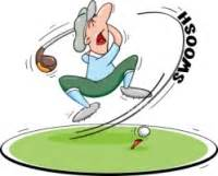 golf swing cartoon humorous golf pictures clipart best