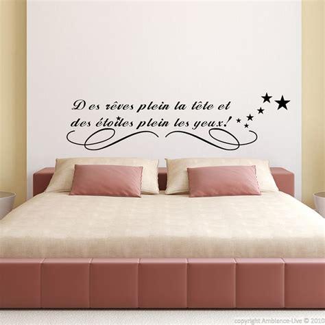 stickers phrase chambre bébé les 25 meilleurs citations pour d 233 coration murale sur