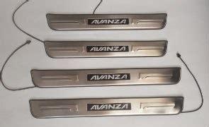 Sillplate Toyota Avanza Veloz Led Stainless stainless steel led door sill plate scuff plate for toyota avanza