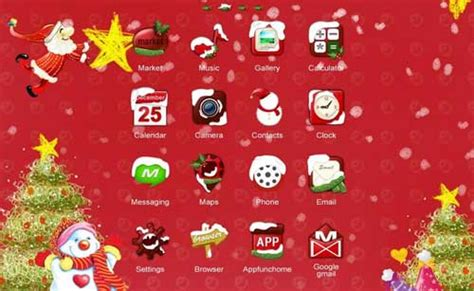 christmas themes phone free christmas themes live wallpapers for your android