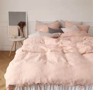 blush duvet cover in search of the blush pink bedding set kimi who