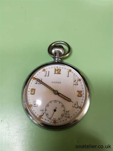 army trade pattern watch damas gstp military pocket watch service repair
