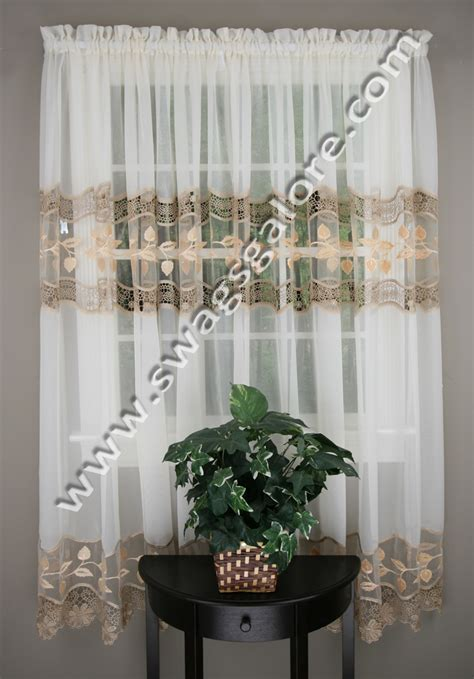 lorraine home fashions seville ecru curtains seville sheer curtains ecru lorraine home fashions curtains
