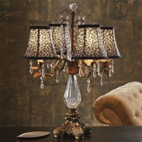 Animal Print L Shades Table Ls by Lite Source Ls 21025 Wood Table L Bronze