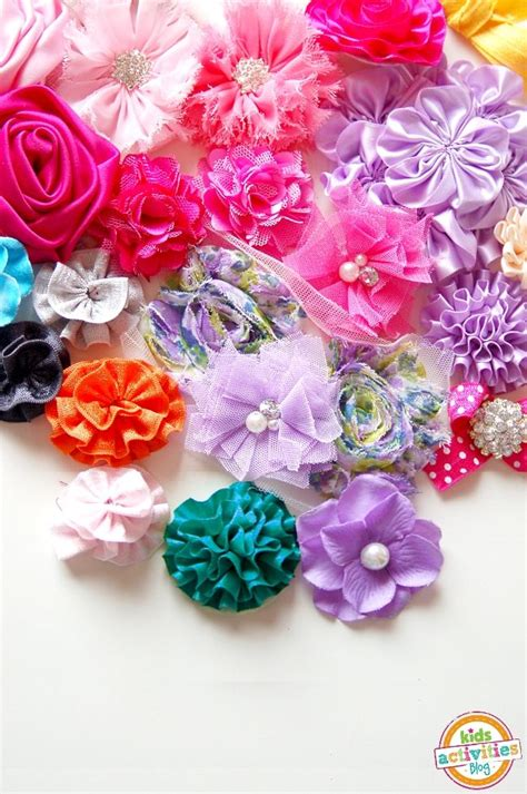 paper ribbon flower tutorial 3134 best fabric and paper flowers how to use them
