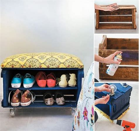 Ready Made Shoe Rack by 19 Cool Pallet Projects Diy Ready