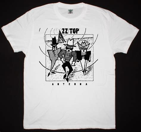 T Shirt 1d Baam Best Quality zz top antenna best rock t shirts