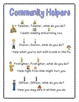 themes of the facebook sonnet community helpers poem could make own flip book