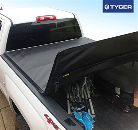 tri fold truck bed cover tyger auto tg bc3c1007 tri fold truck bed tonneau cover