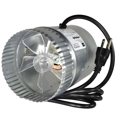 inductor fan home depot broan 10 in vertical discharge in line der 421 the home depot