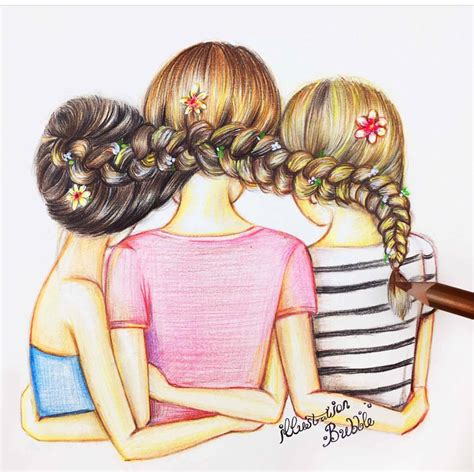 best ideas 2017 best friendship images drawing ideas pencil sketches