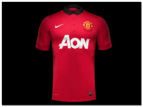 Jersey Langka Liverpool 13 14 Home Kit nike unveil new 2013 14 manchester united home jersey the center circle a soccerpro soccer