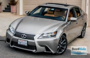 Lexus Gs Sport Review The Edgy Lexus Gs 350 F Sport Bestride
