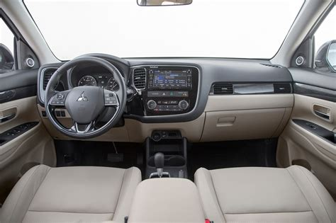 mitsubishi outlander interior 2017 2016 mitsubishi outlander sel awd review long term verdict