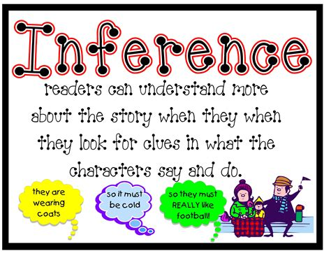 printable inference poster inferencing speech and language therapist talking talk